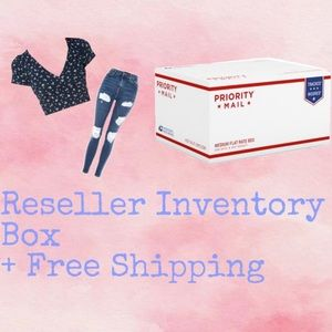 Reseller Inventory Box w/ FREE SHIPPING